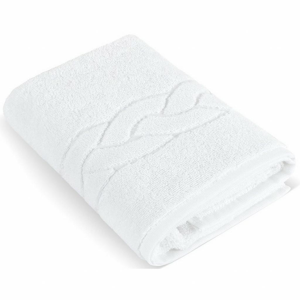 Produktové foto Bellatex Hotelový froté ručník 001 bílý 550 g, 50 x 100 cm