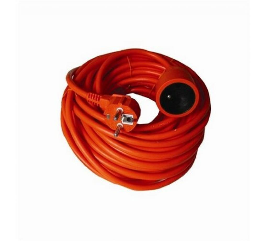Produktové foto Solight prodlužovací kabel červená, 20 m