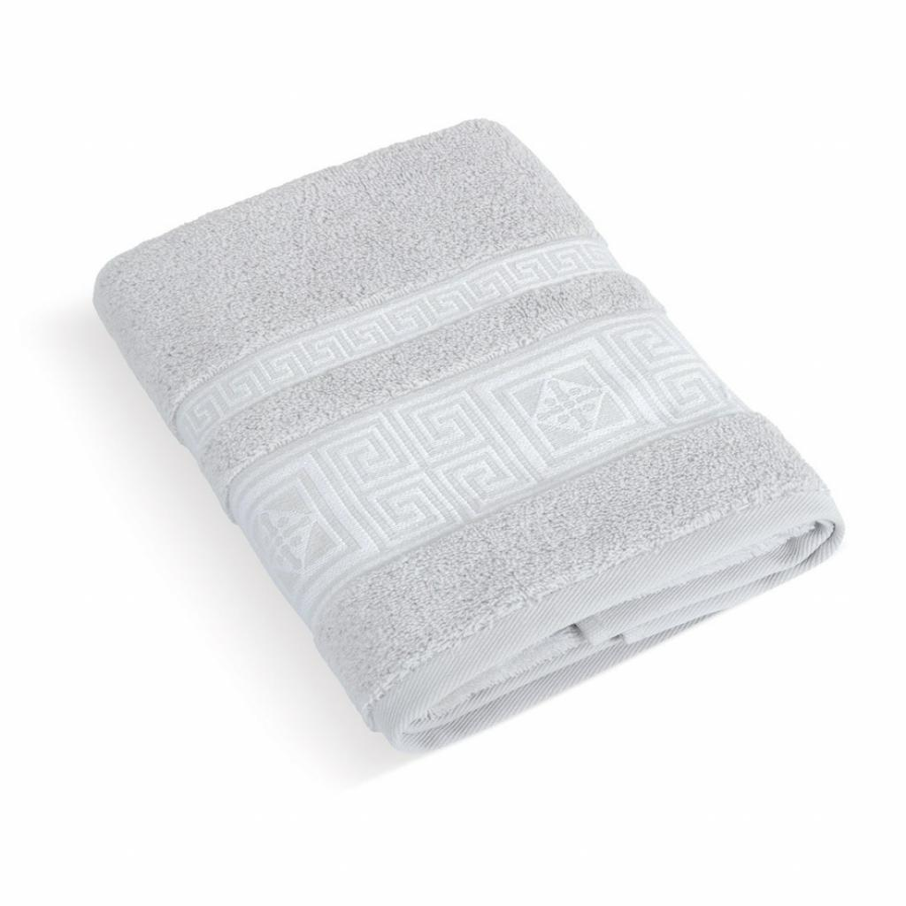 Produktové foto Bellatex Froté ručník Řecká kolekce sv.šedá