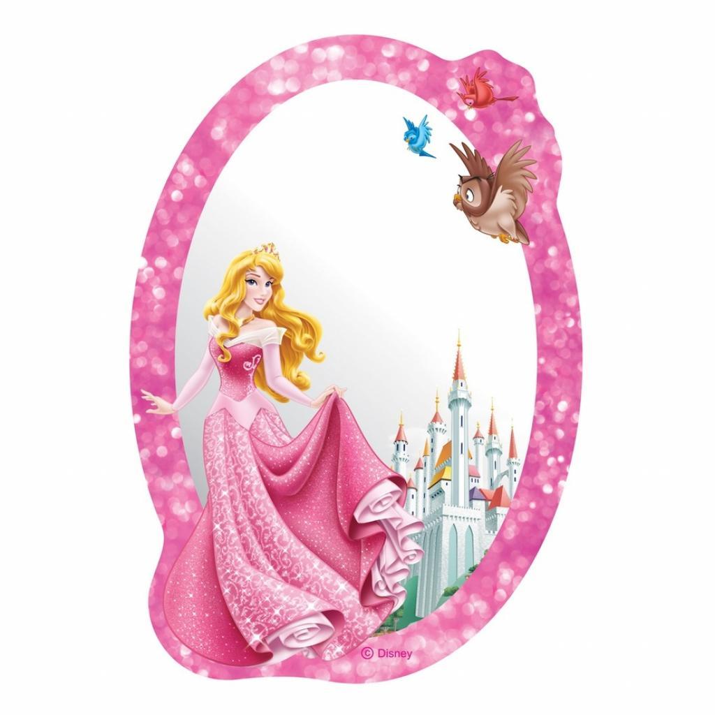 Produktové foto AG Art Samolepicí dětské zrcadlo Princezna, 15 x 21,5 cm