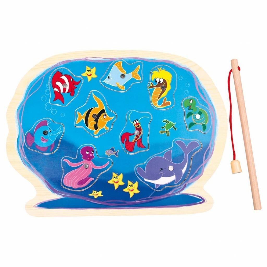 Produktové foto Bino puzzle Akvárium s prutem