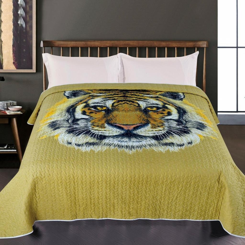 Produktové foto JAHU Přehoz na postel Tygr
