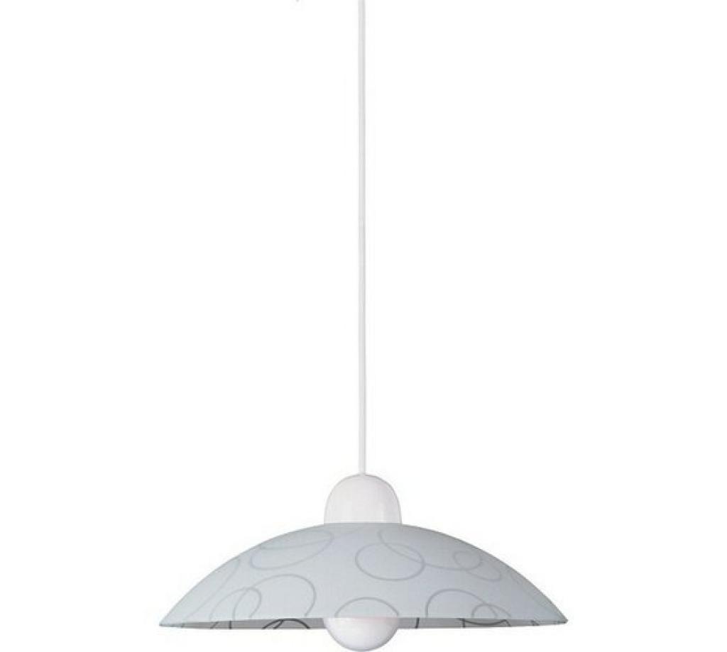 Produktové foto Závěsné svítidlo Rabalux Circle 1844, bílá-transparent
