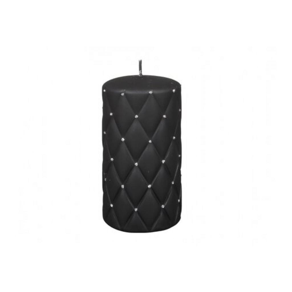 Produktové foto Dekorativní svíčka Florencia černá, 14 cm