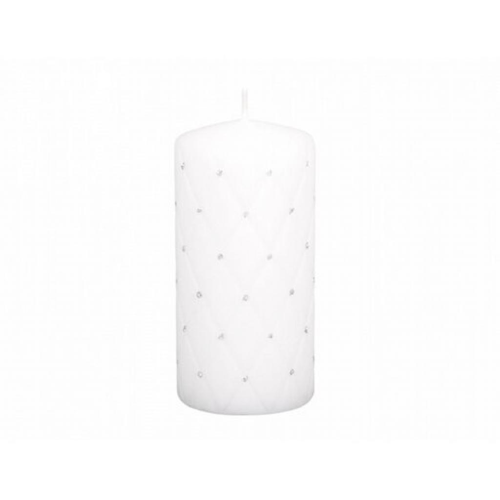 Produktové foto Dekorativní svíčka Florencia bílá, 14 cm