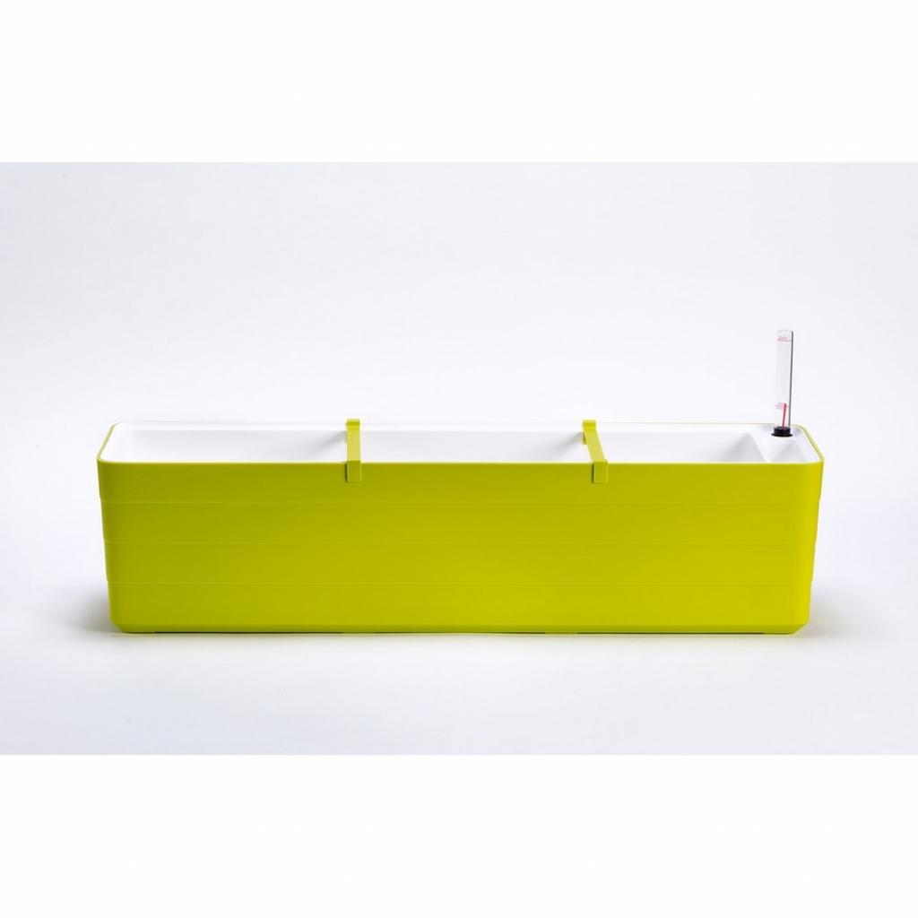 Produktové foto Plastia Samozavlažovací truhlík Berberis 80, zelená + bílá