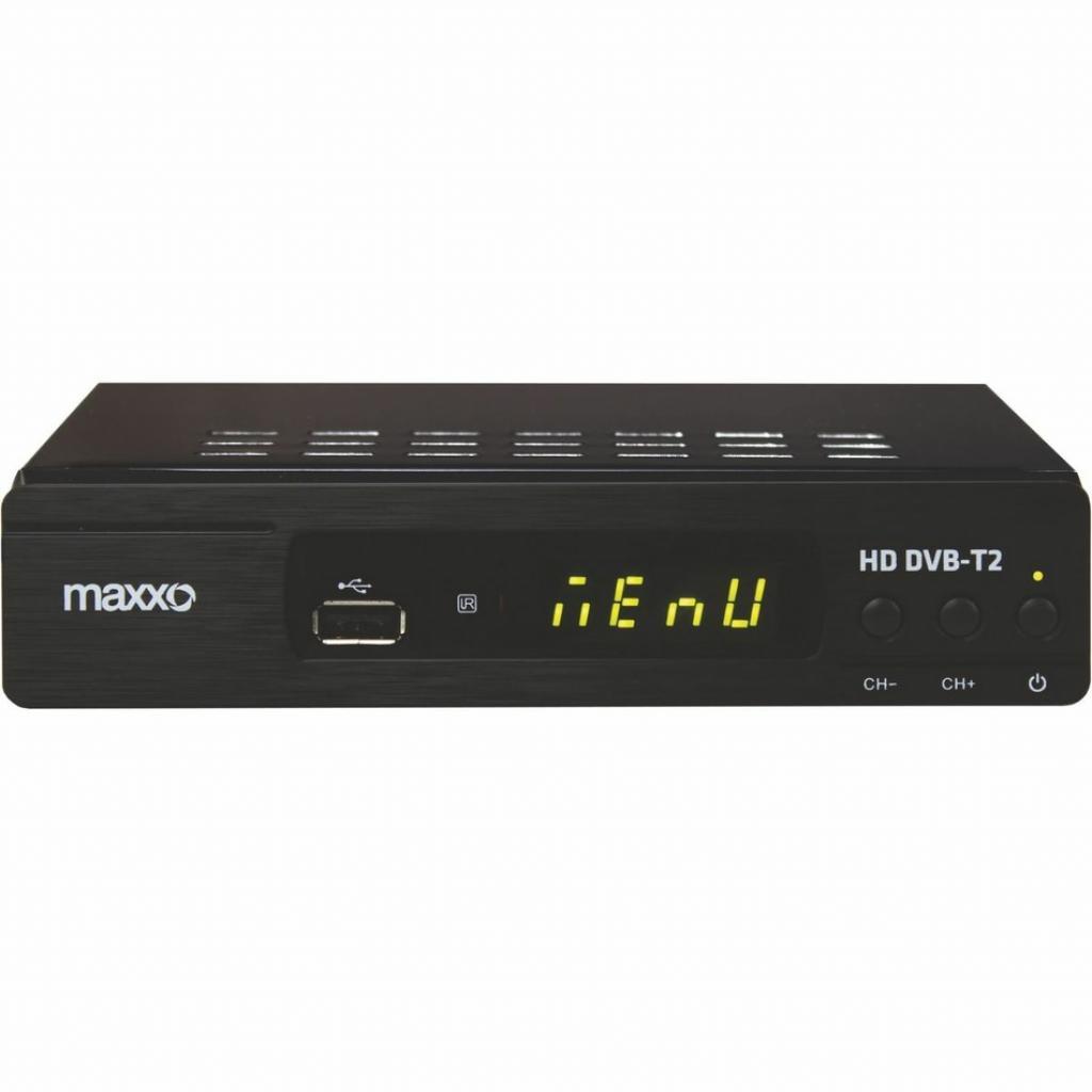 Produktové foto Maxxo T2 HEVC/H.265 Set-top box
