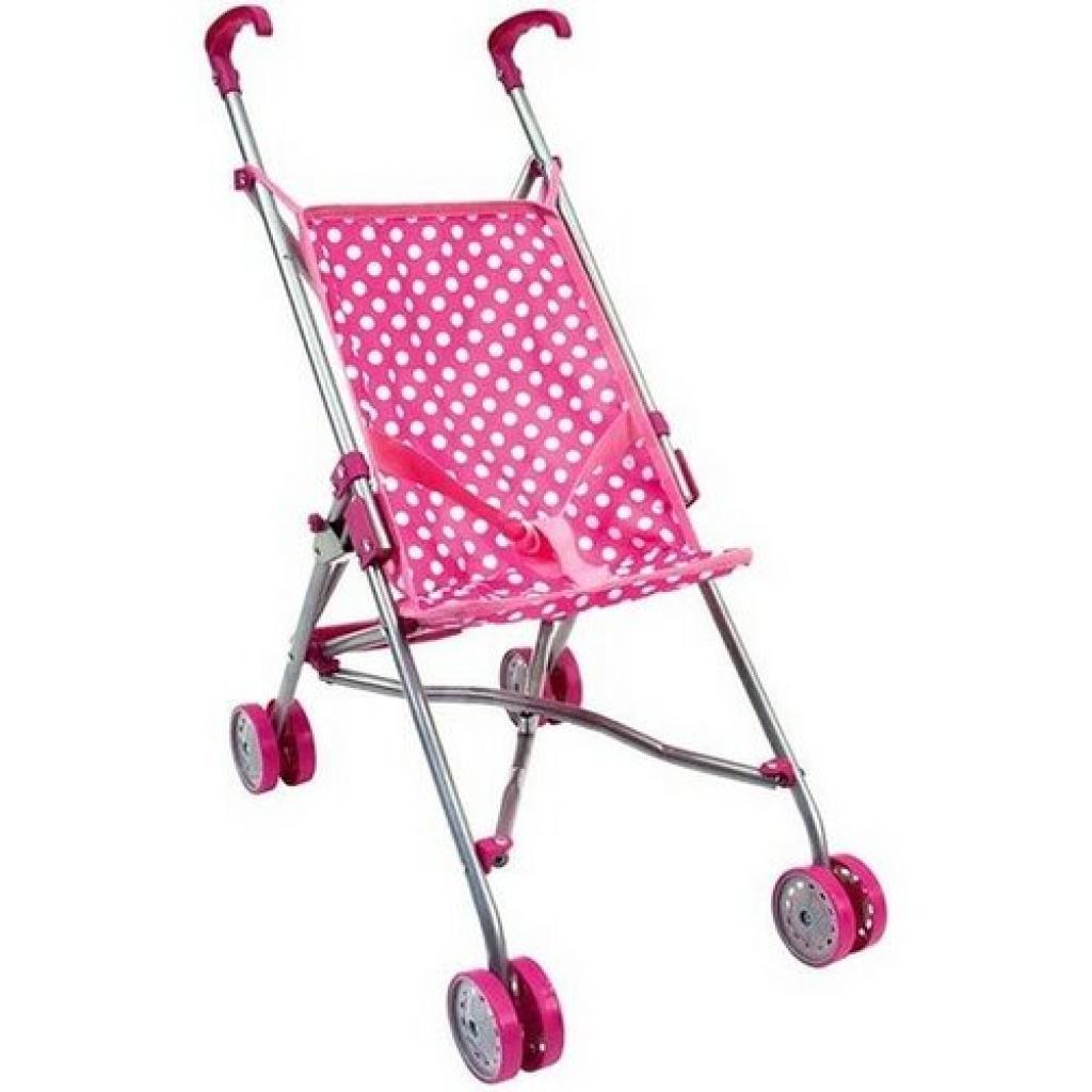 Produktové foto Bino Golfový kočárek pro panenky, růžová