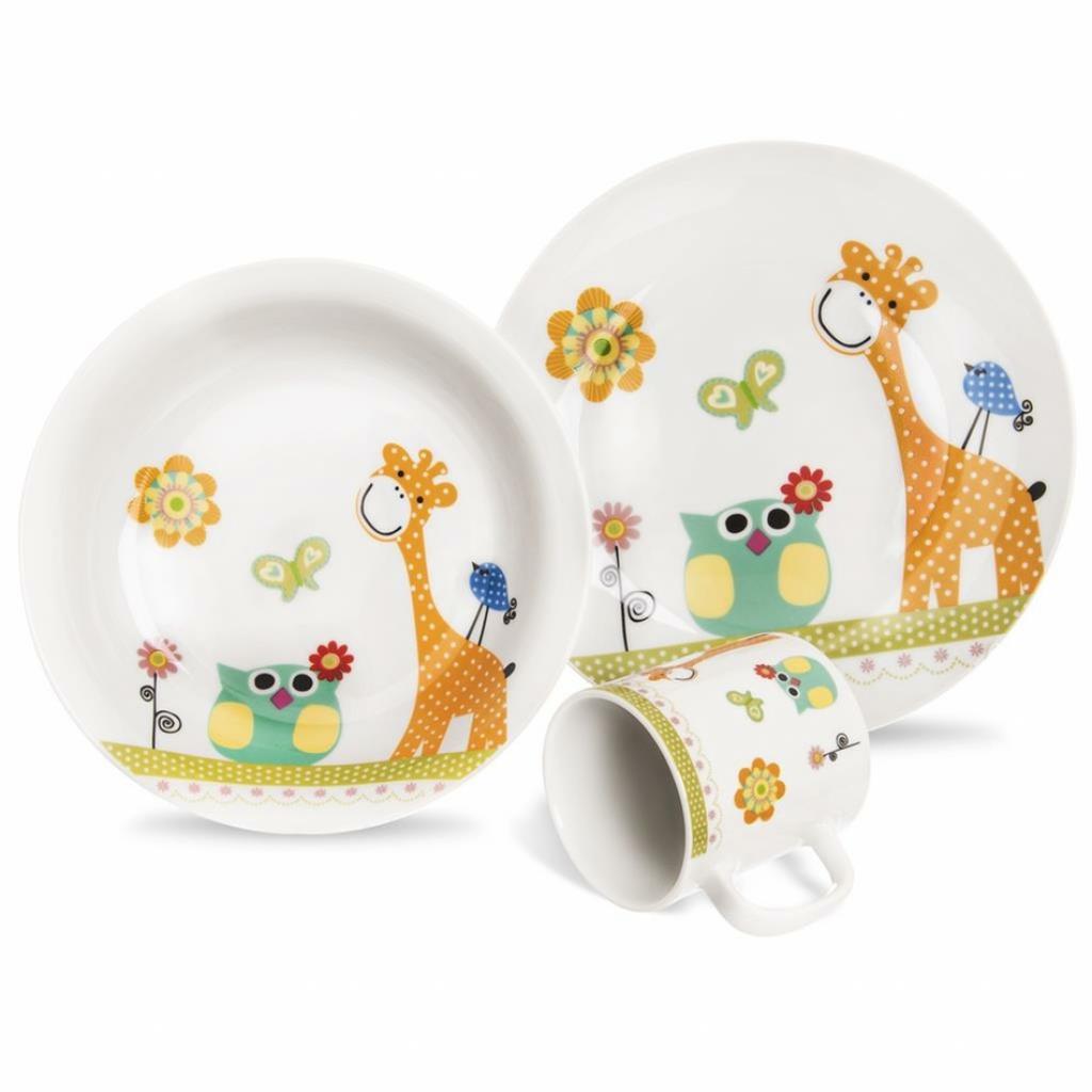 Produktové foto Orion žirafa 3 ks dětská jídelní sada