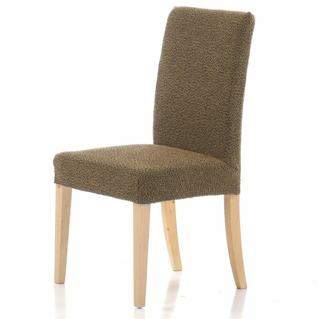 Produktové foto Forbyt Multielastický potah na židli Petra gold, 40 - 50 cm, sada 2 ks