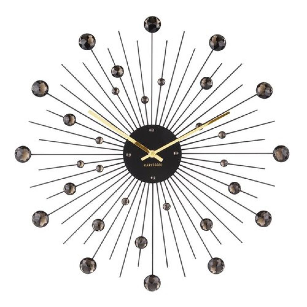 Produktové foto Karlsson 4859BK Designové nástěnné hodiny, 50 cm