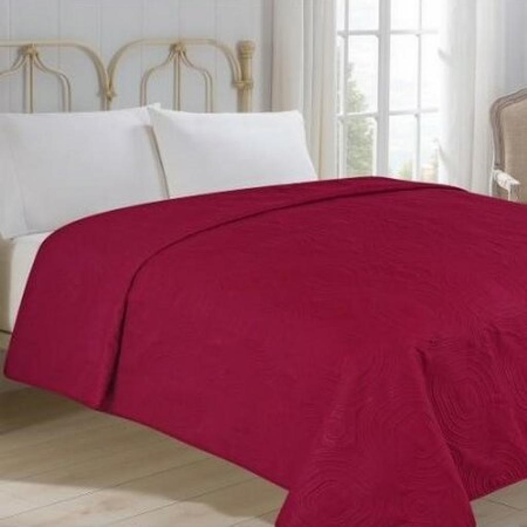 Produktové foto Jahu Přehoz na postel Royal vínová, 220 x 240 cm