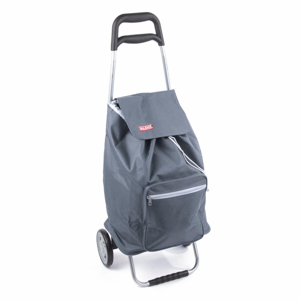 Produktové foto ALDO nákupní taška na kolečkách CARGO šedá