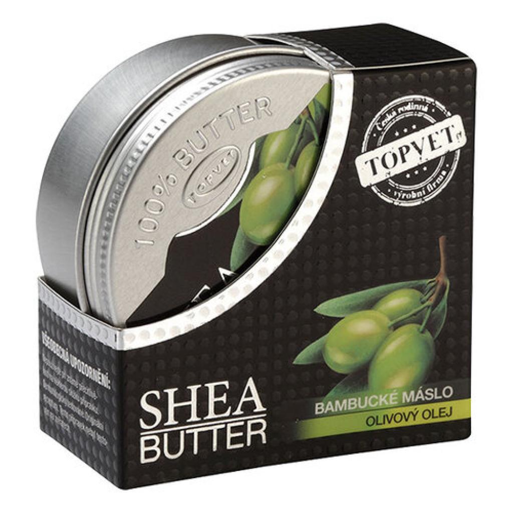 Produktové foto Topvet Bambucké máslo s olivovým olejem 100 ml