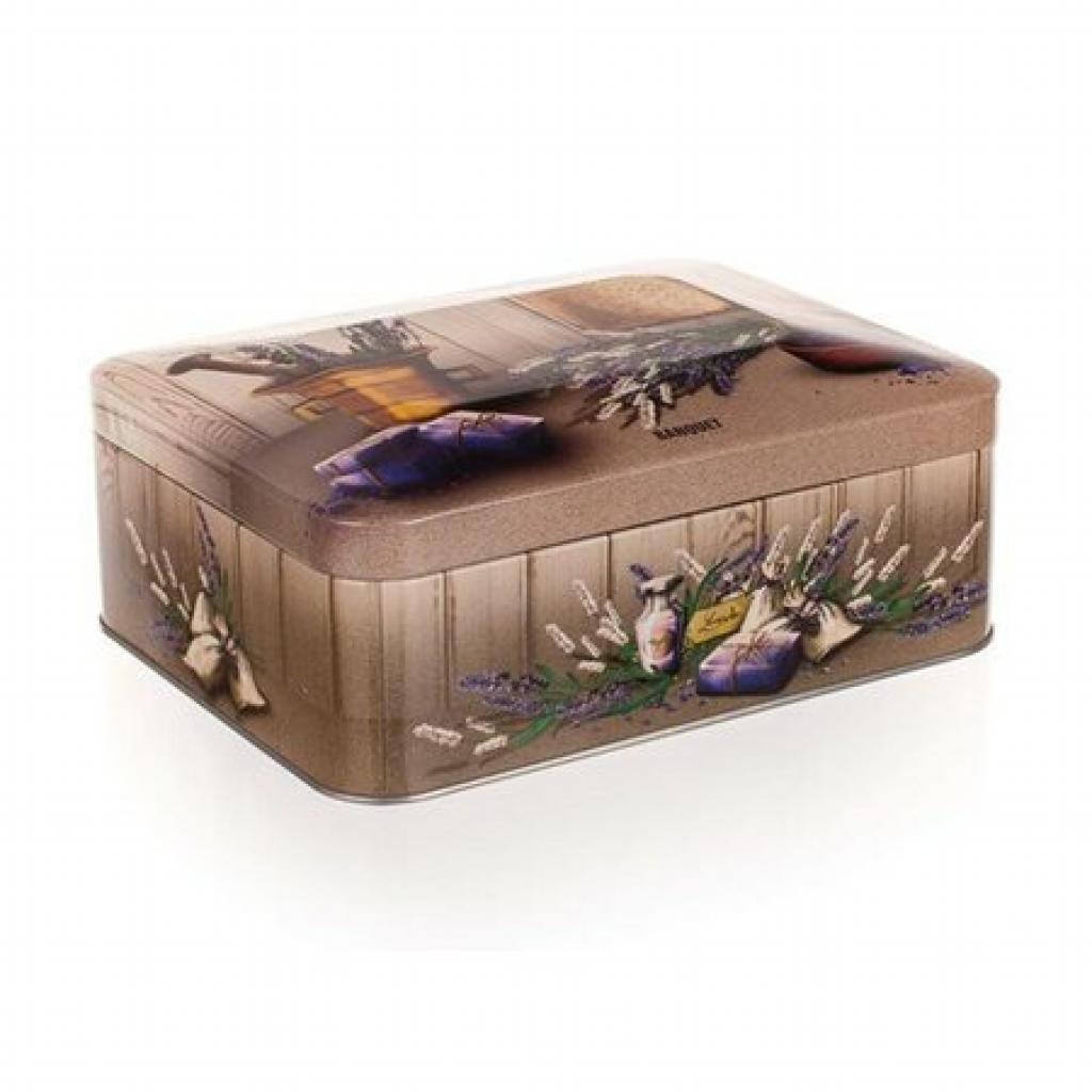 Produktové foto BANQUET LAVENDER Plechovka - box na čaj 24LAVRCT002