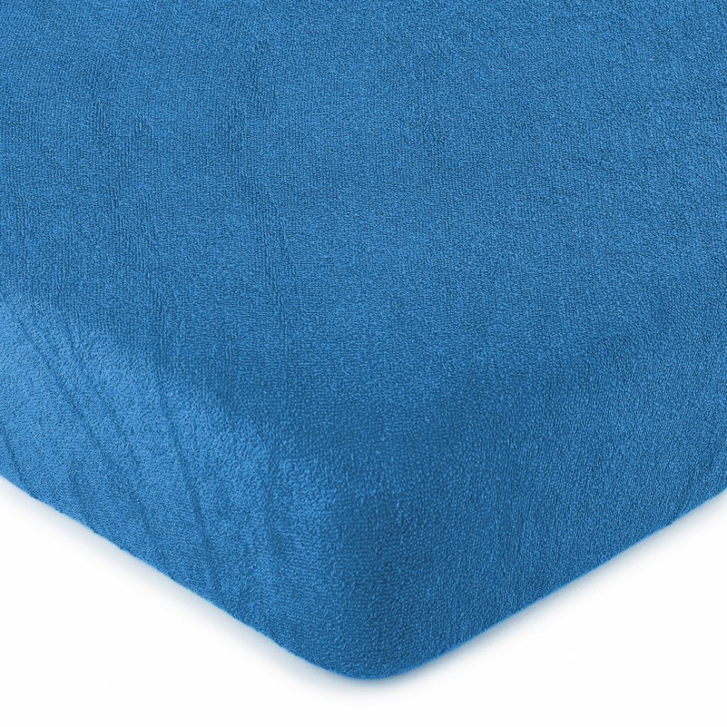Produktové foto 4Home froté prostěradlo tmavě modrá, 180 x 200 cm