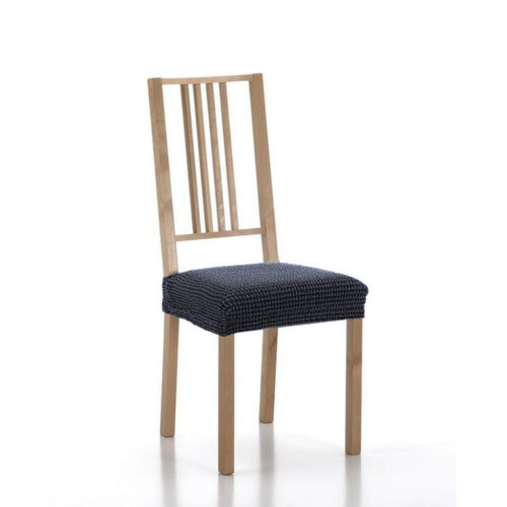 Produktové foto Forbyt Multielastický potah na sedák na židli Sada modrá, sada 2 ks