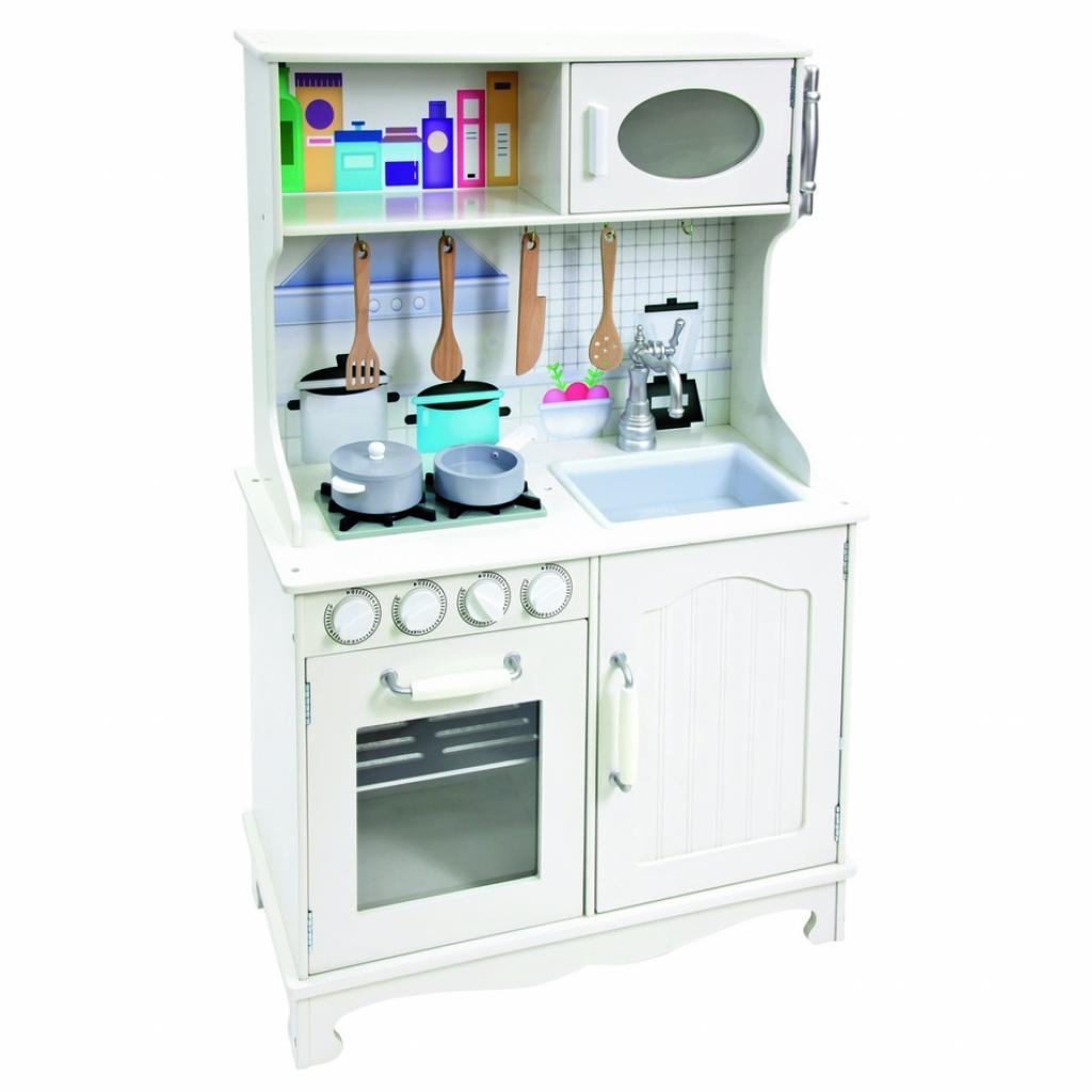Produktové foto Bino Dětská dřevěná kuchyňka Provence