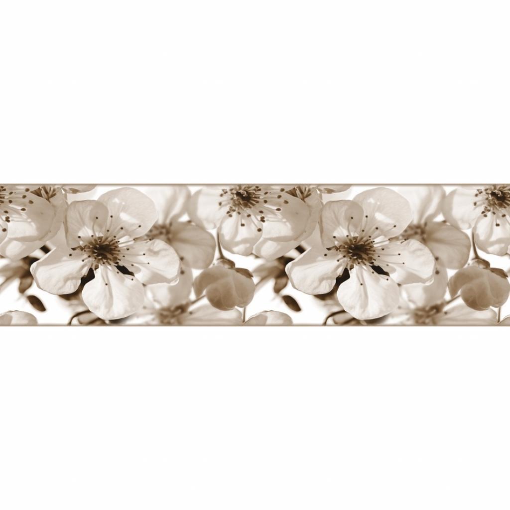 Produktové foto AG Art Samolepicí bordura Jabloňový květ, 500 x 14 cm