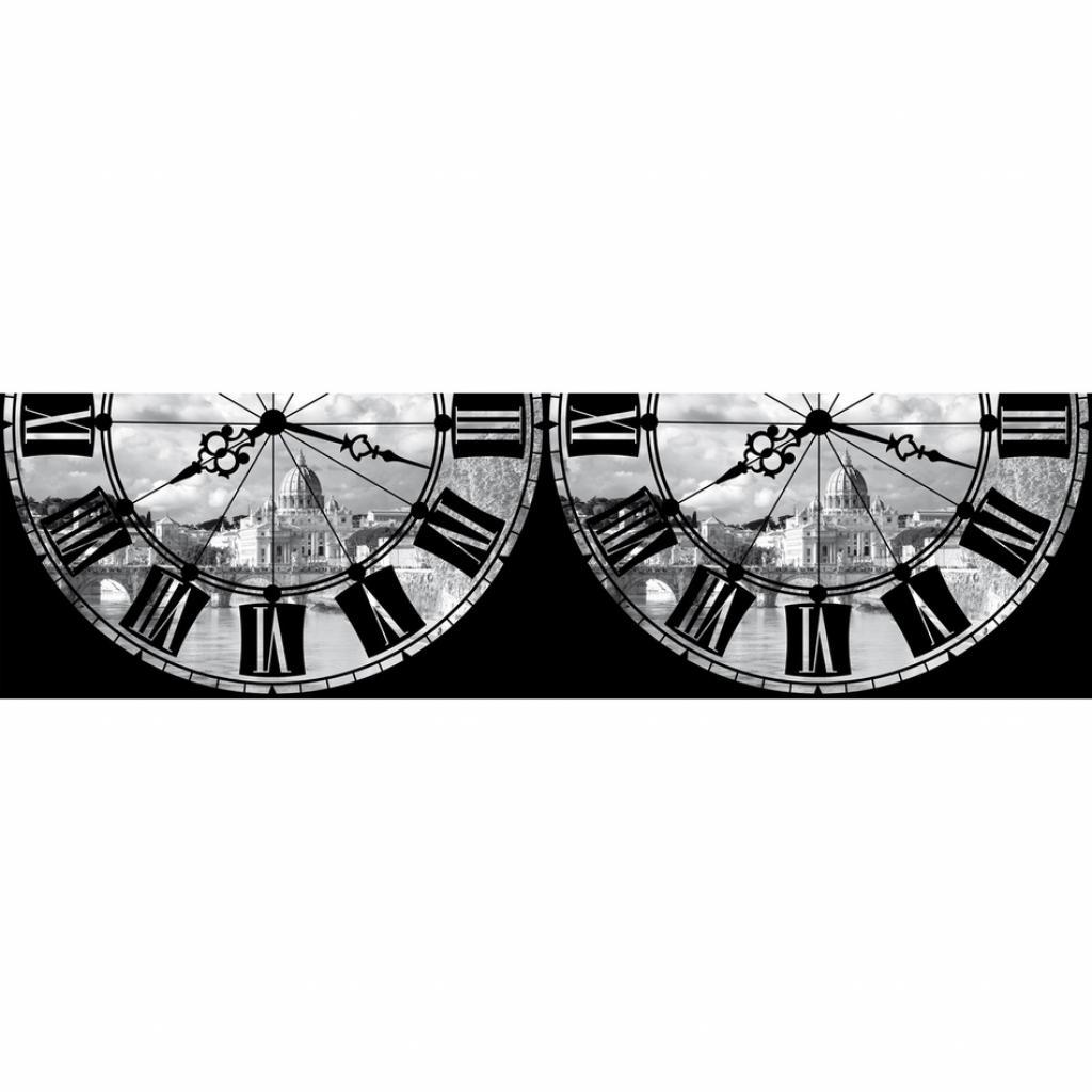 Produktové foto AG Art Samolepicí bordura Římské hodiny, 500 x 14 cm