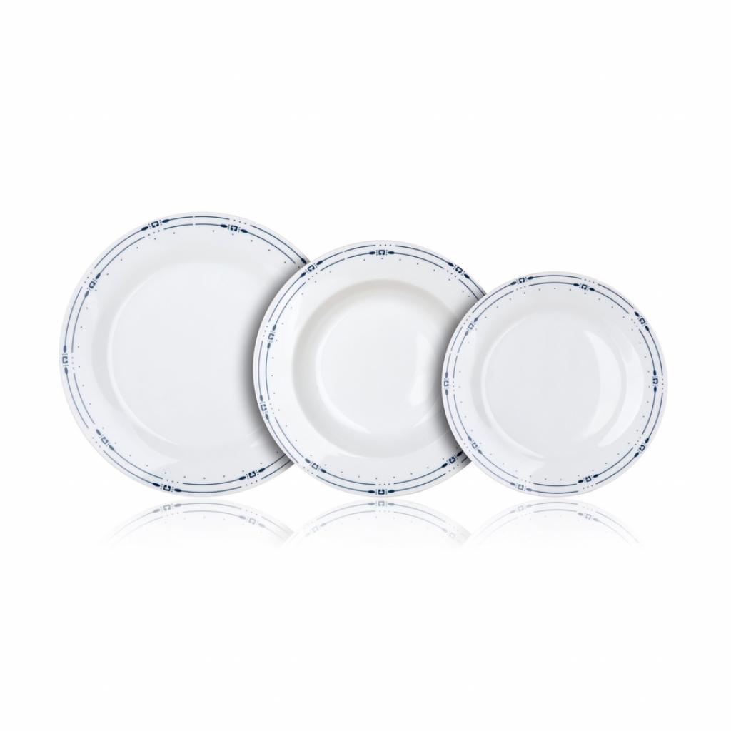 Produktové foto Banquet Sada talířů SANSA, 18 ks