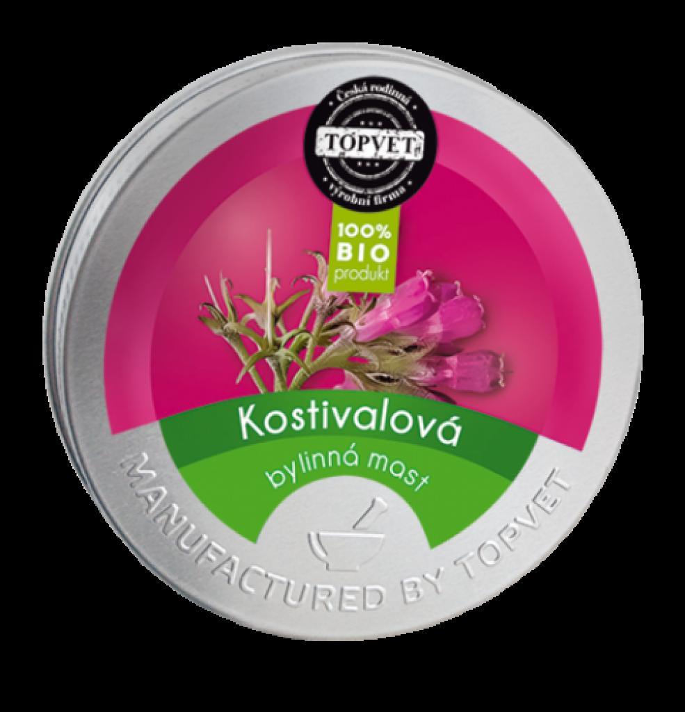 Produktové foto Topvet Kostivalová mast, 50 ml