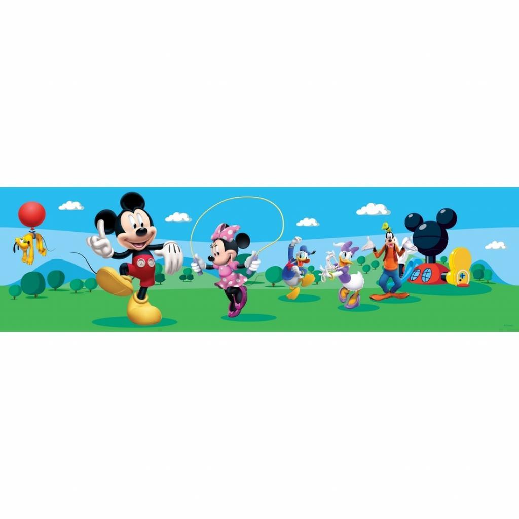 Produktové foto AG Art Samolepicí bordura Mickey Mouse a jeho přátelé, 500 x 14 cm
