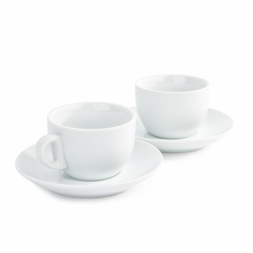 Produktové foto Domestic sada 2 šálků a 2 podšálků na Cappuccino, 180 ml