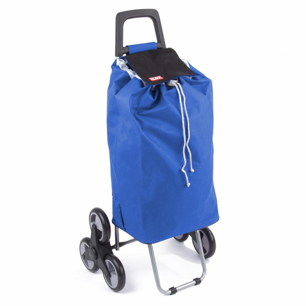Produktové foto ALDO nákupní taška na kolečkách do schodů MADRID modrá