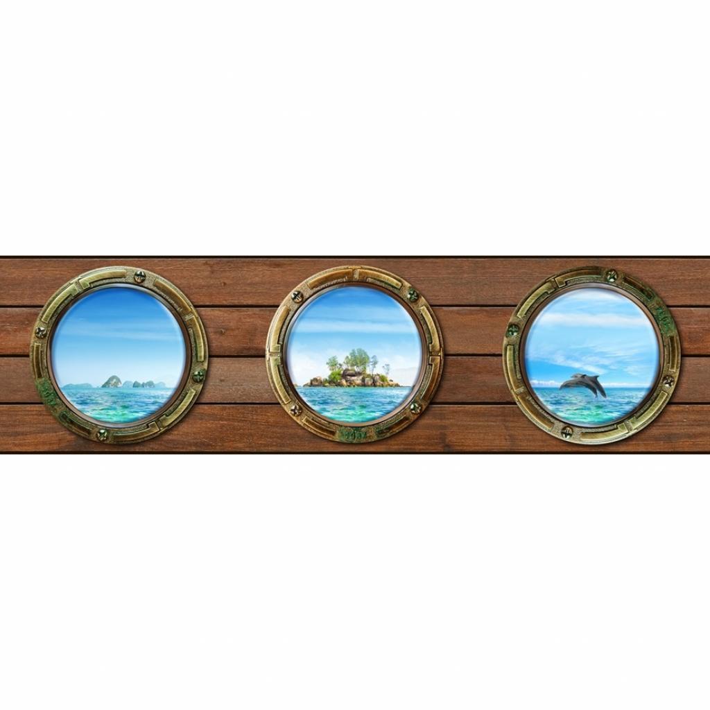 Produktové foto AG Art Samolepicí bordura Ostrov, 500 x 14 cm