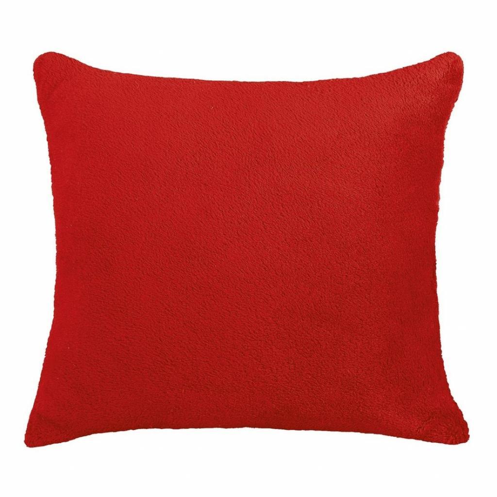 Produktové foto Bellatex polštářek Korall micro, červená, 38 x 38 cm