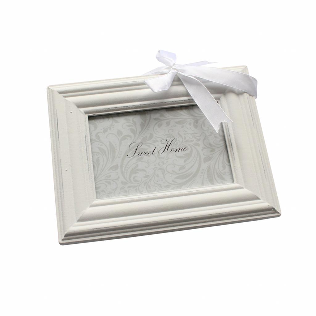 Produktové foto Závěsný fotorámeček bílá, 9 x 13 cm
