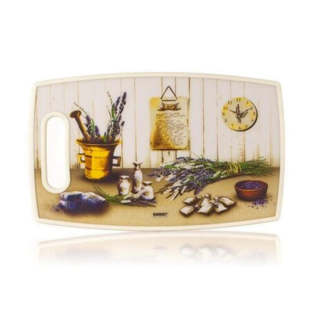 Produktové foto Banquet Krájecí prkénko plastové (36x22 cm LEVANDULE)