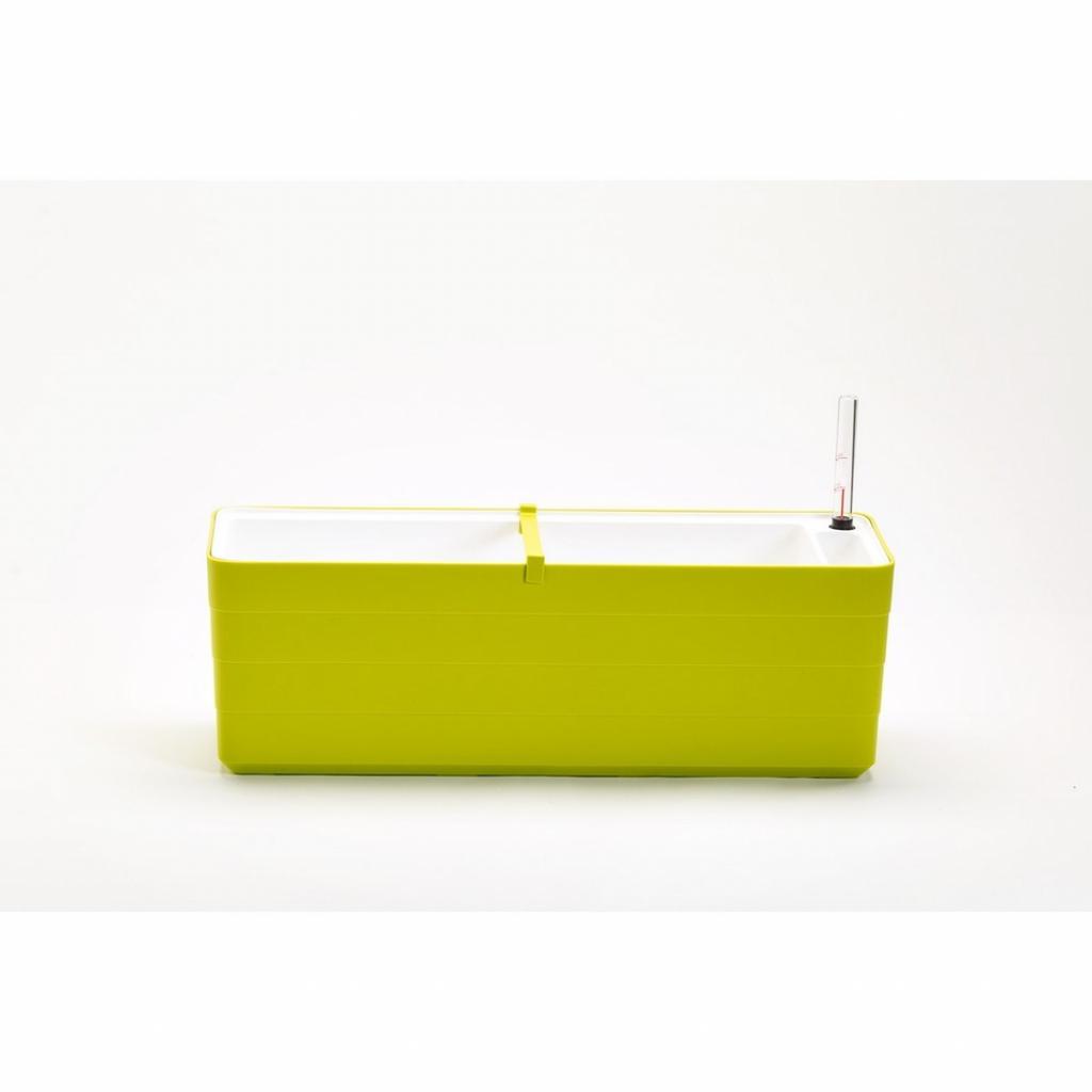 Produktové foto Plastia Samozavlažovací truhlík Berberis 60, zelená + bílá