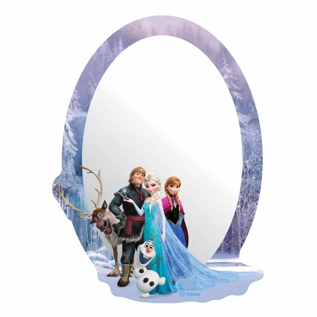 Produktové foto AG Art Samolepicí dětské zrcadlo Ledové království, 15 x 21,5 cm
