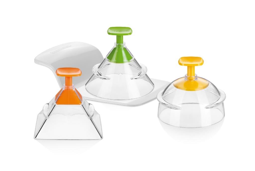 Produktové foto Tescoma Presto Foodstyle 3D formičky pro tvarování