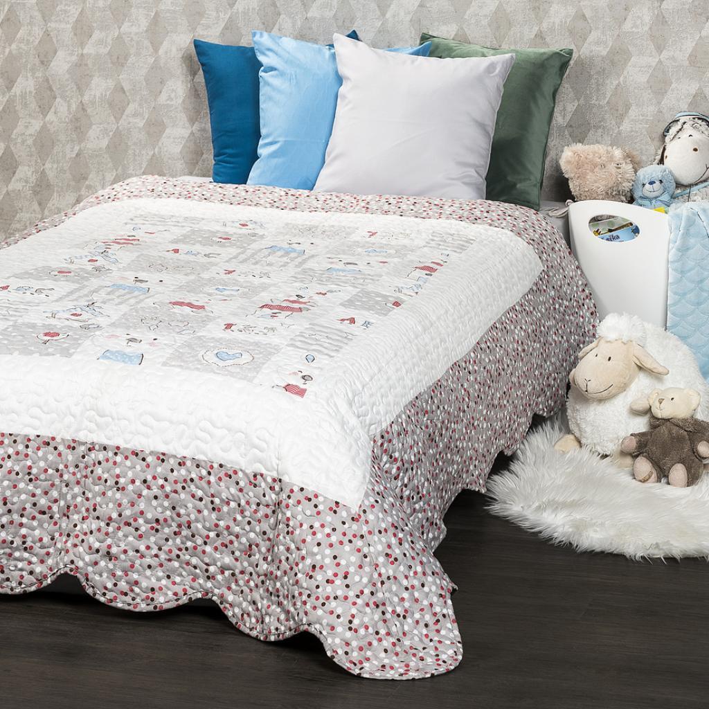Produktové foto 4Home Dětský přehoz na postel Little Friends, 140 x 200 cm