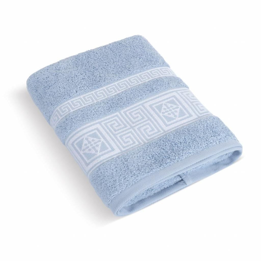 Produktové foto Bellatex Froté ručník Řecká kolekce sv.modrá, 50 x 100 cm