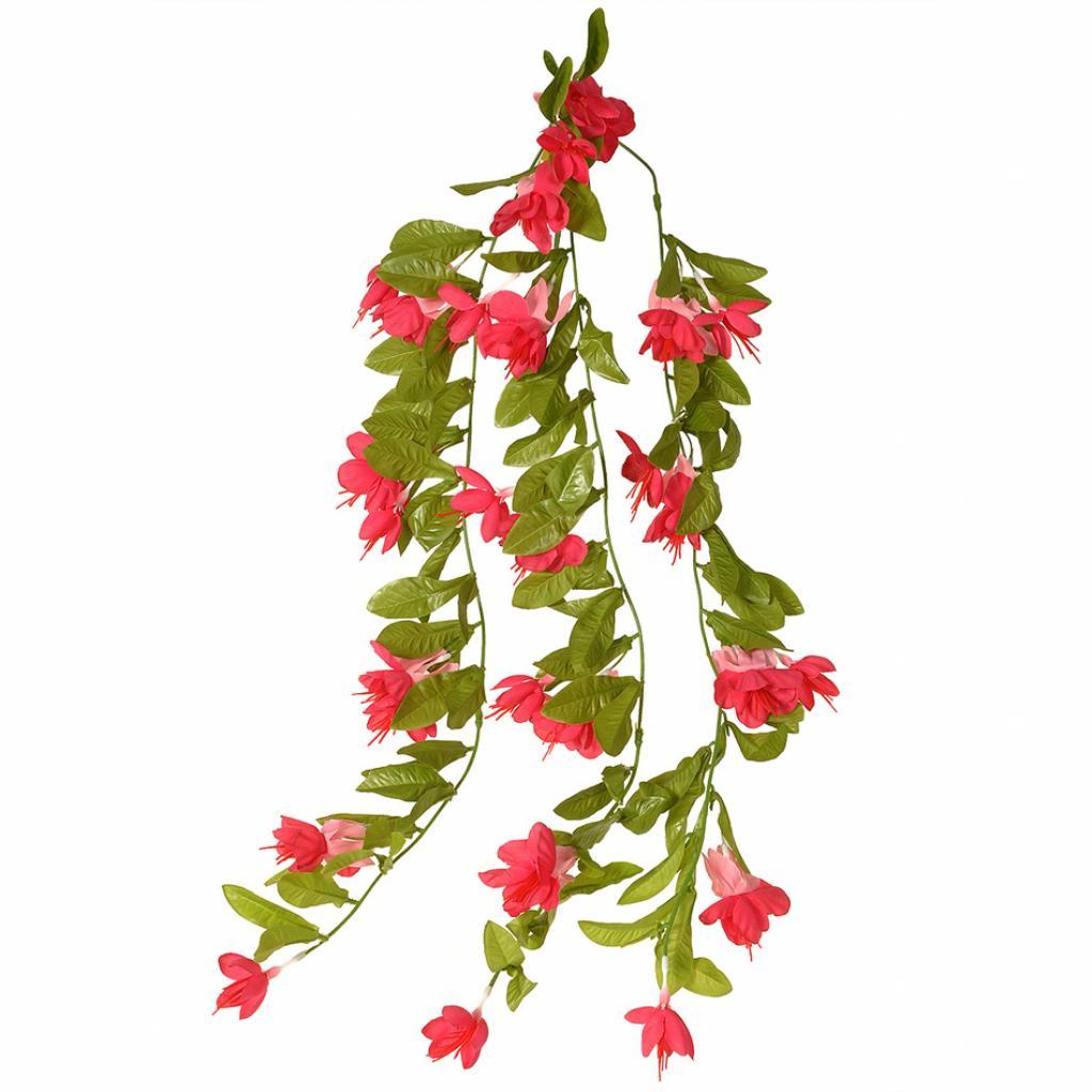 Produktové foto Umělá Fuchsie růžová, 60 cm