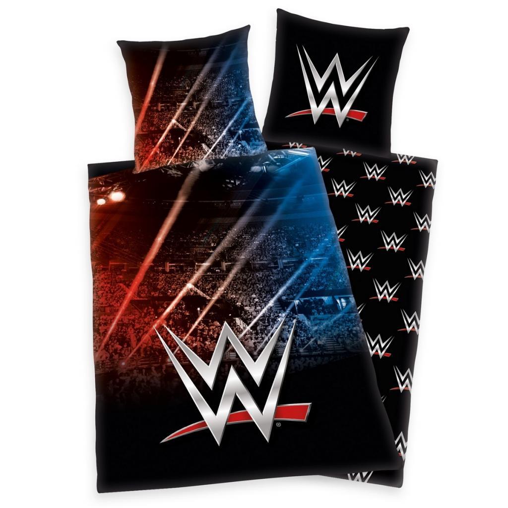 Produktové foto Herding Bavlněné povlečení World Wrestling, 140 x 200 cm, 70 x 90 cm