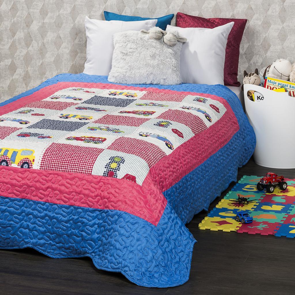 Produktové foto 4Home Dětský přehoz na postel Cars, 140 x 200 cm