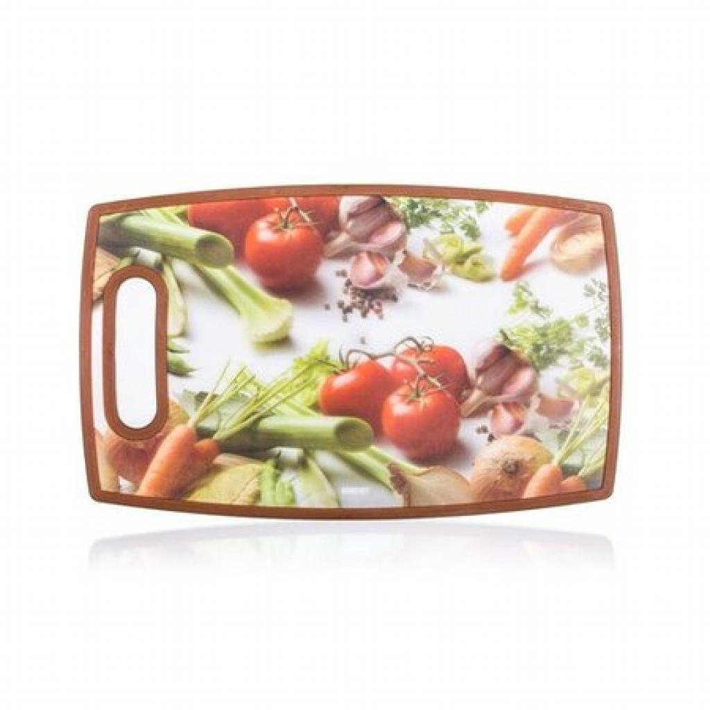 Produktové foto BANQUET Prkénko krájecí plastové VEGETABLES 36 x 22 cm