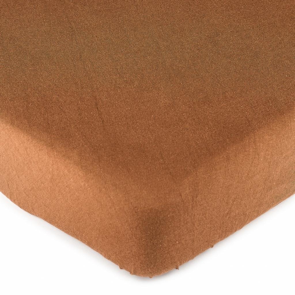 Produktové foto 4Home jersey prostěradlo hnědá, 180 x 200 cm