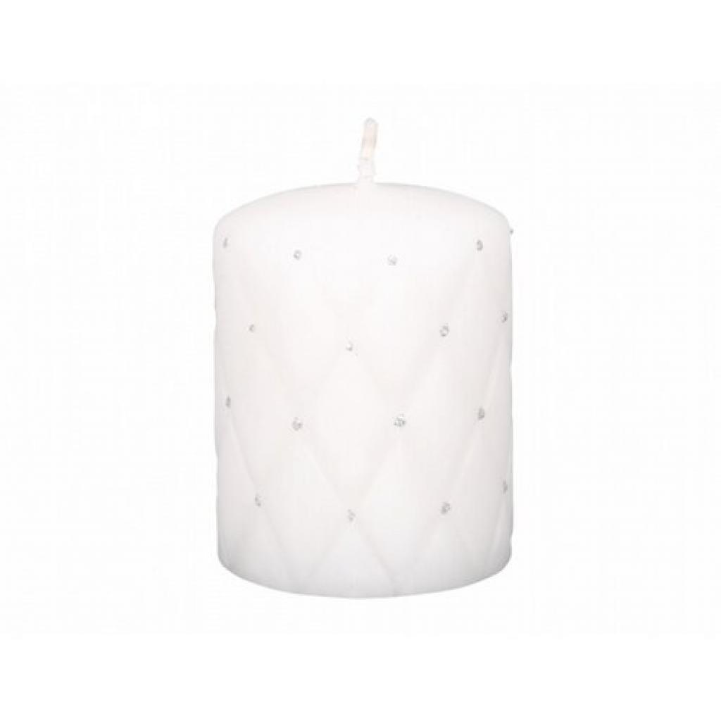 Produktové foto Dekorativní svíčka Florencia d7x10 cm bílá mat
