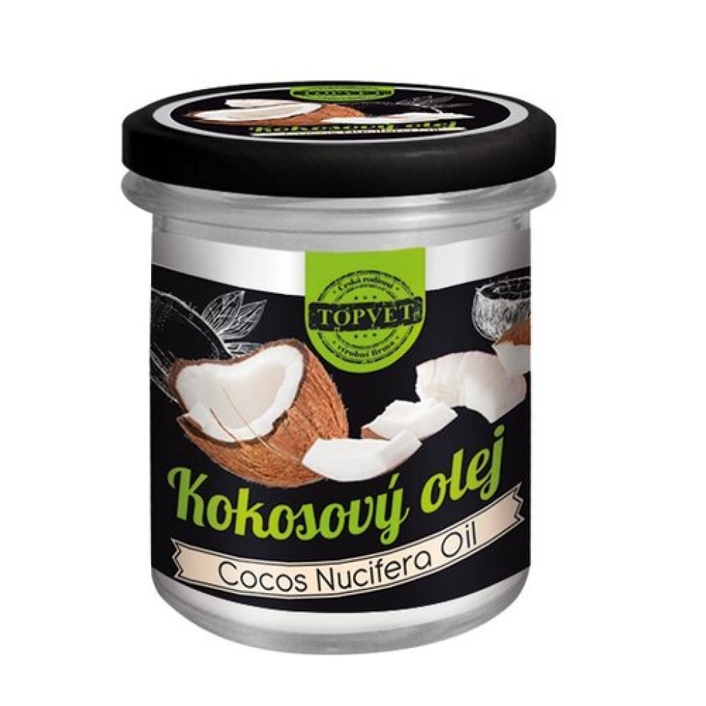 Produktové foto Topvet Kokosový olej 200 ml