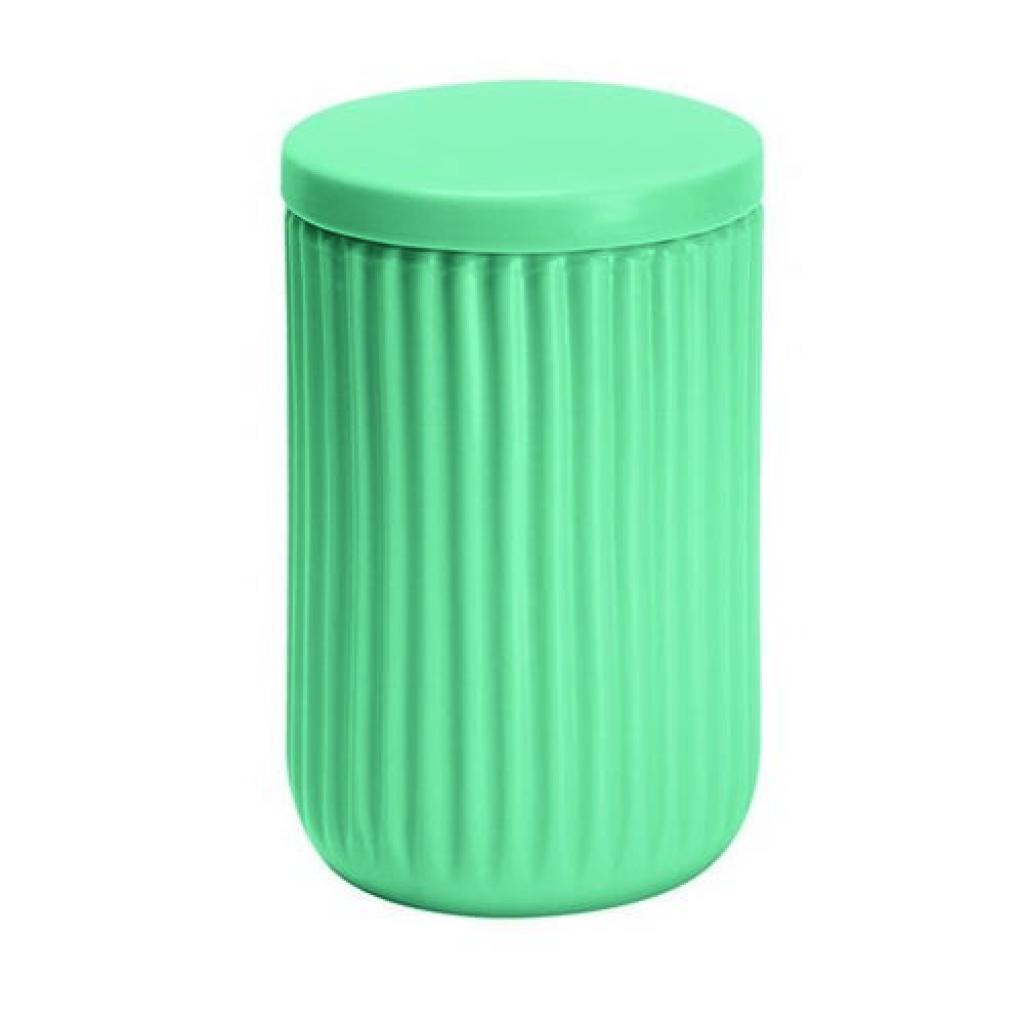 Produktové foto Kleine Wolke Dóza na vatové tampony Mallow, zelená