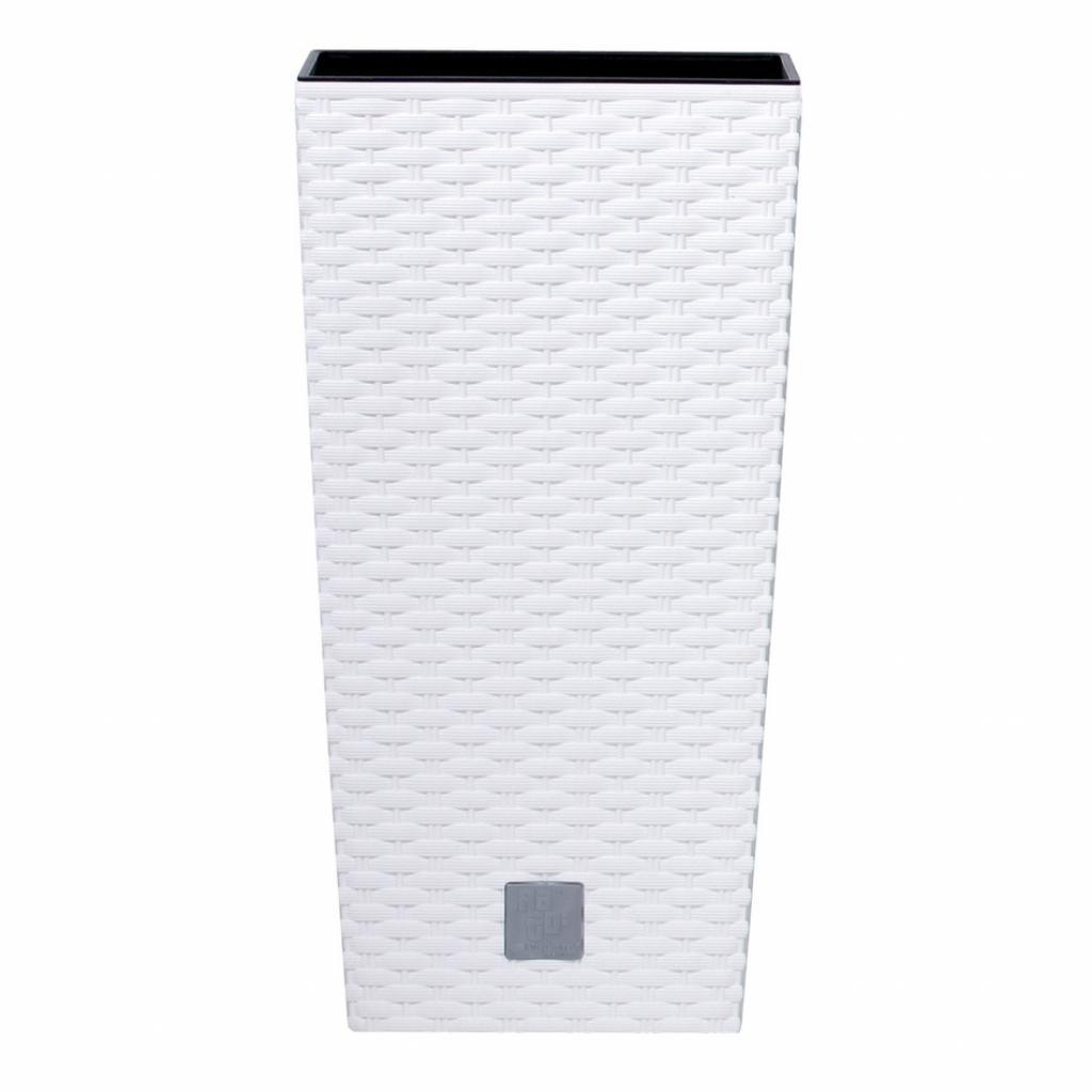 Produktové foto Prosperplast Obal RATO SQUARE bílý 17x17x32,4cm
