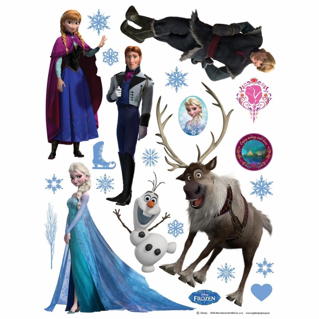 Produktové foto AG Art Samolepicí dekorace Ledové království, 30 x 30 cm