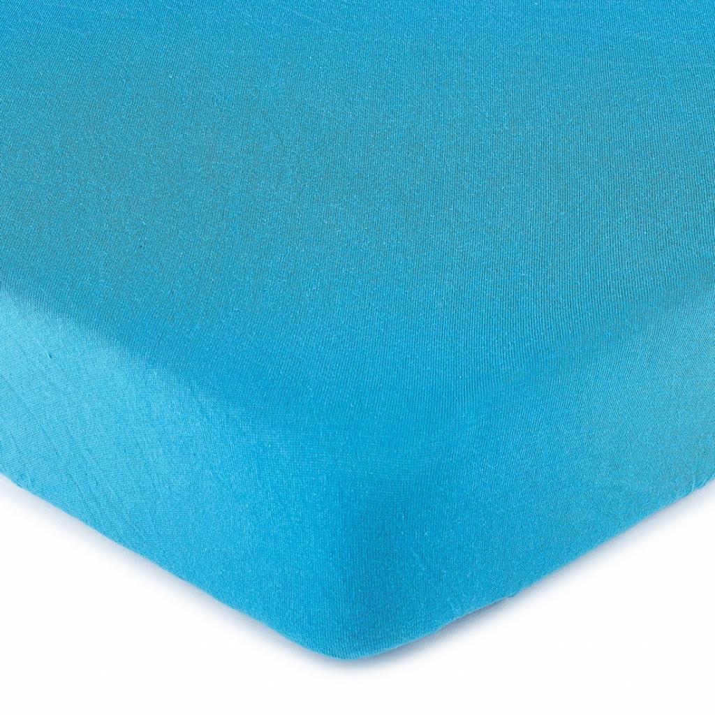 Produktové foto 4Home jersey prostěradlo tmavě modrá, 160 x 200 cm