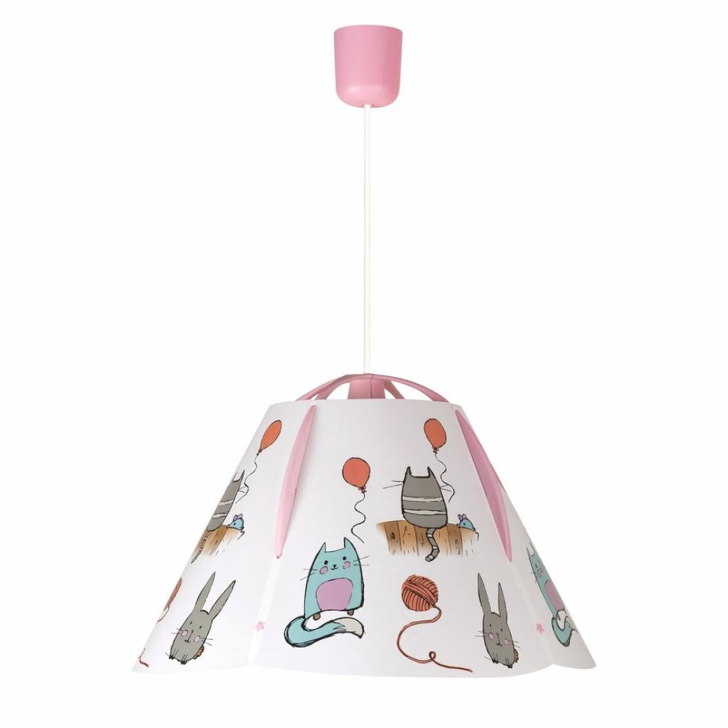 Produktové foto Rabalux 4567 Cathy dětské stropní svítidlo, růžová